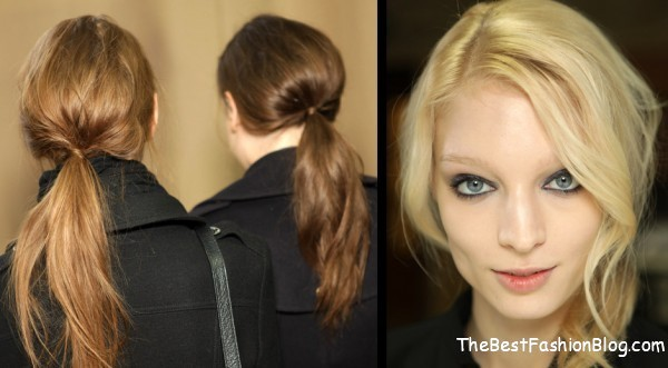 modern ponytail for women