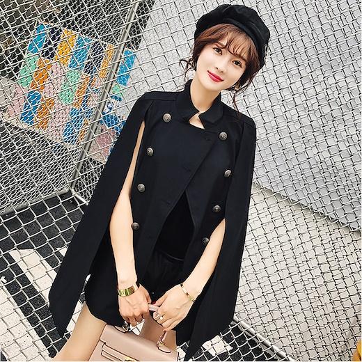 chic women's fall army coat
