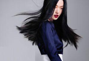amazing women's asian hairstyle