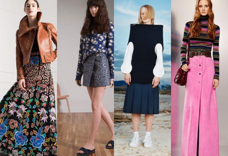 best skirt styles for autumn winter