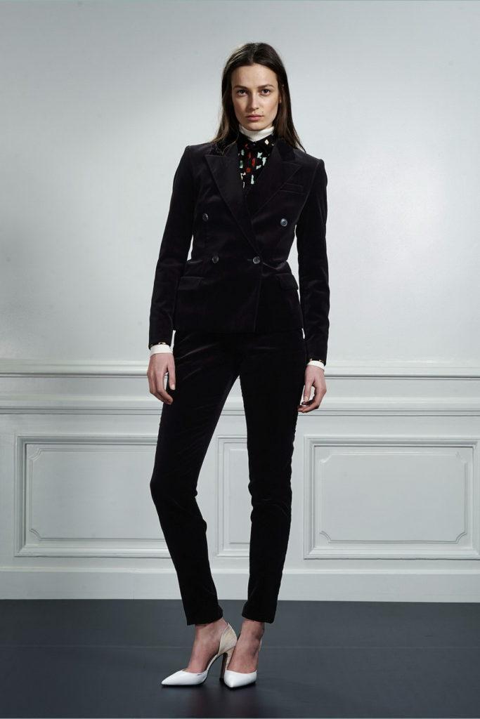 black women's pant suits