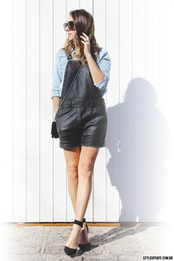 black short overall