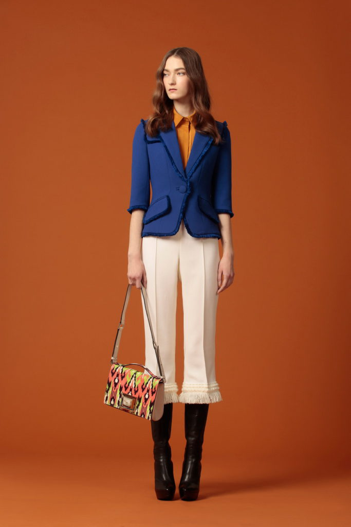 white pant with blue women's blazers & suit jackets