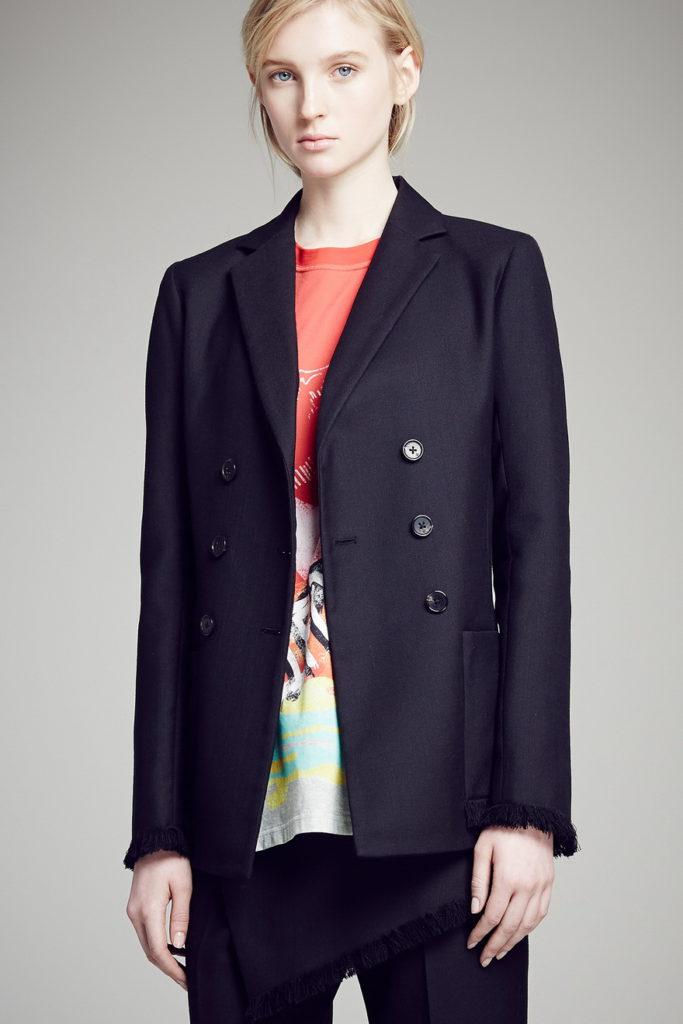 blue navy women's blazers & suit jackets