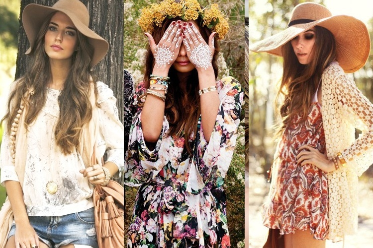 how to style boho chick
