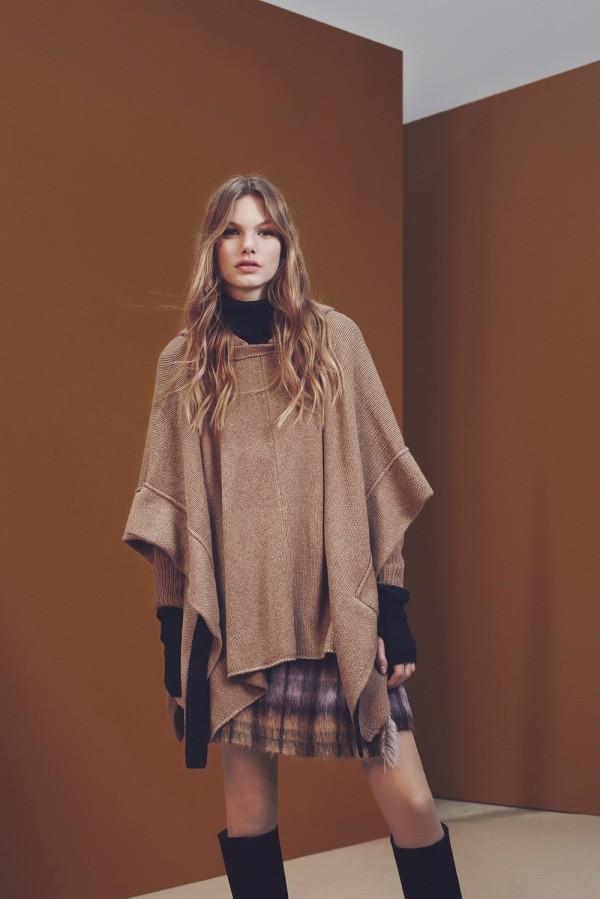 casual poncho & cape coats for fall