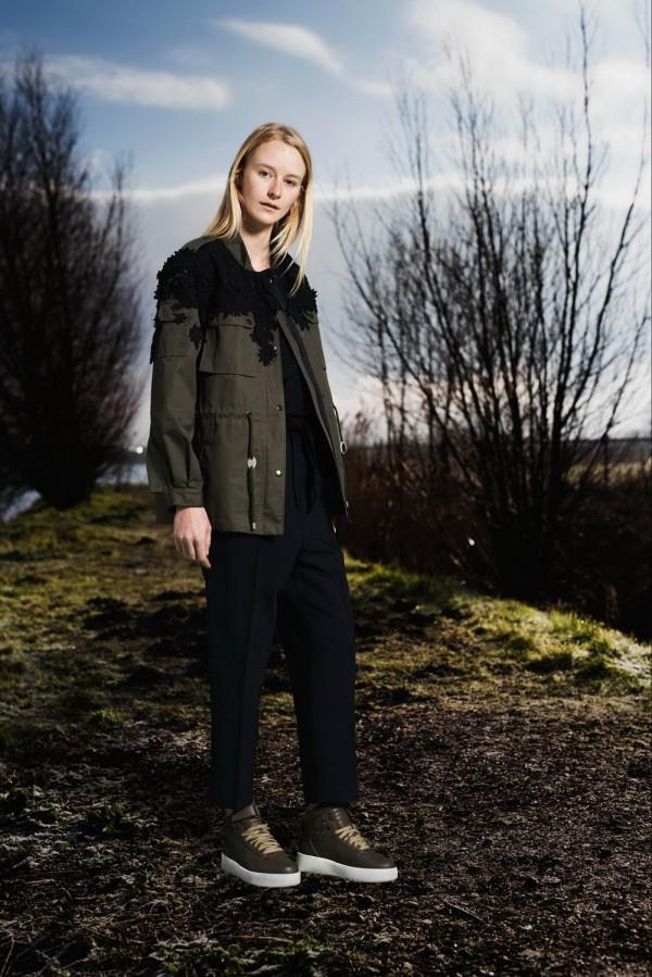 casual militar coats & jackets