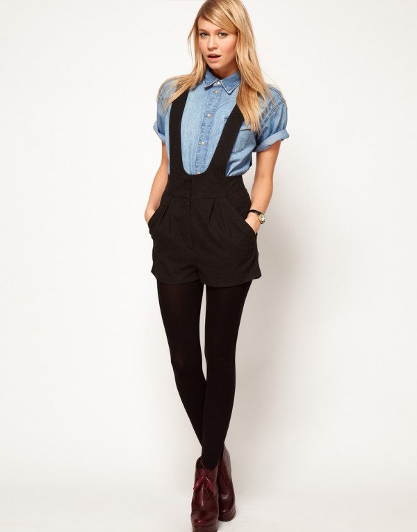dungarees denim overall & short overalls