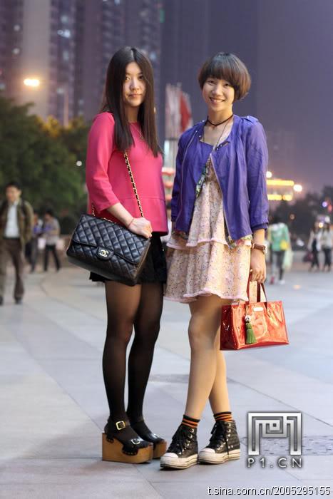 chinese women style
