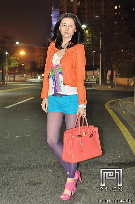 chinese women street style