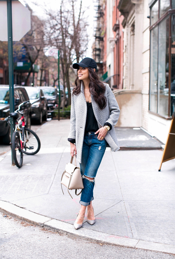 women outfits with baseball hats