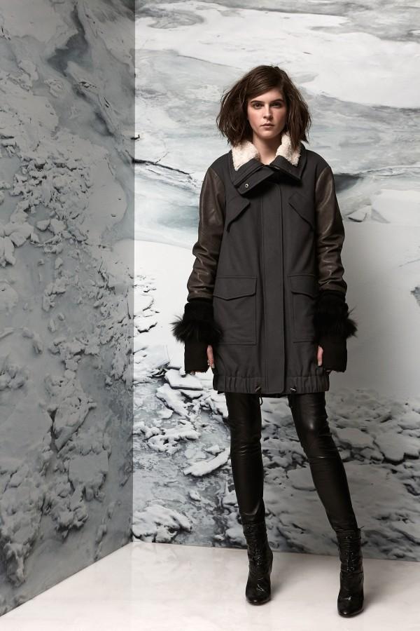 women's military coats & jackets