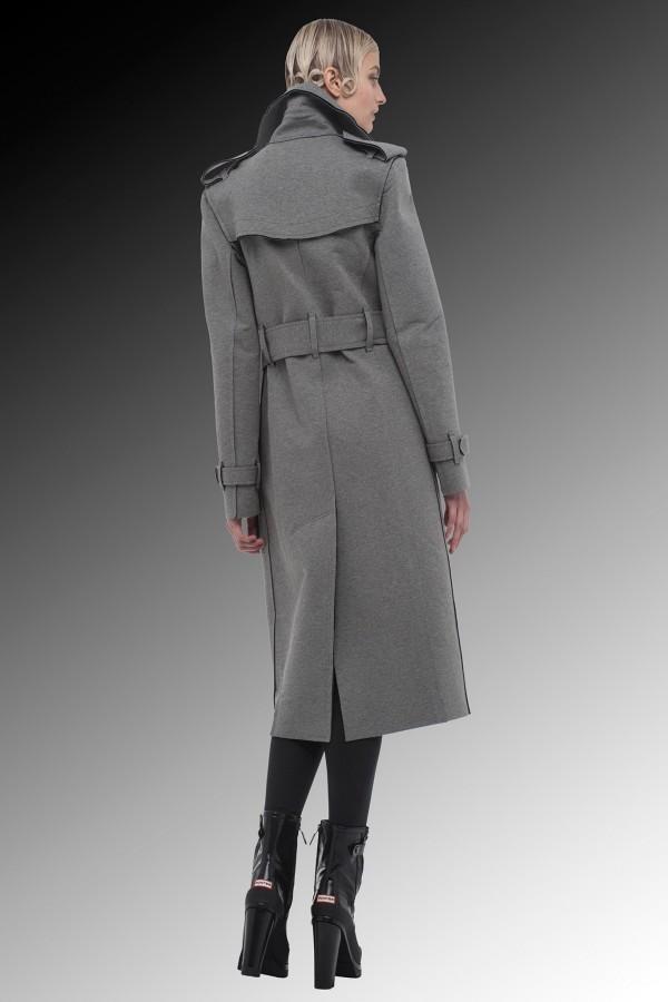 classic gray military coats & jackets