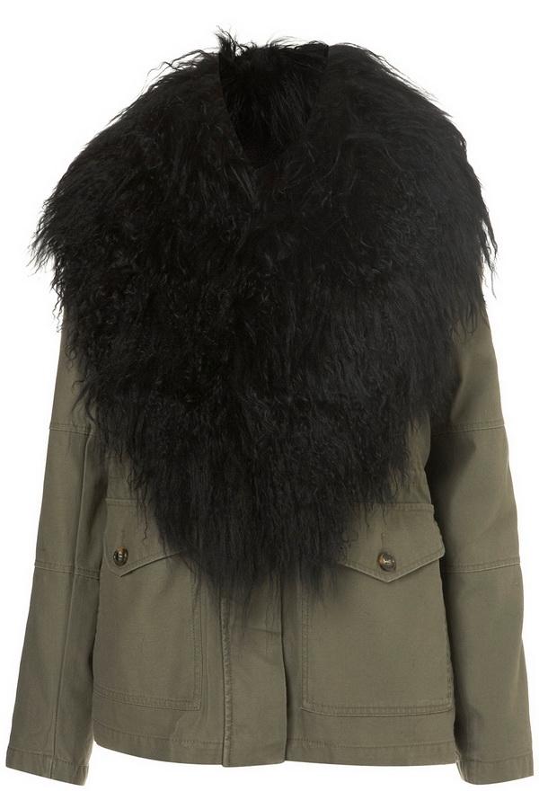 military fashion style jacket
