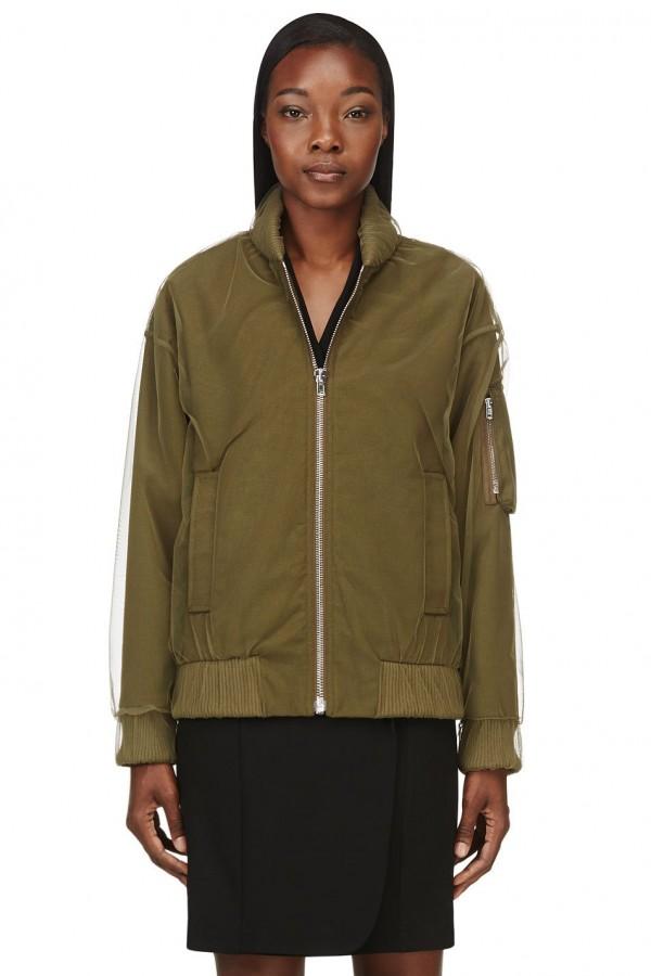 green bomber jackets