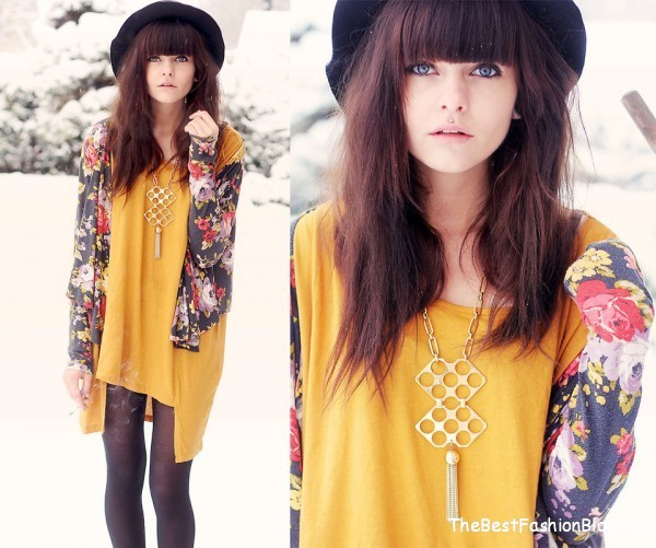 hipster woman outfit