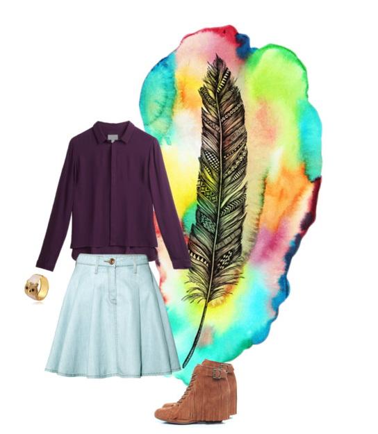 modern hippie look