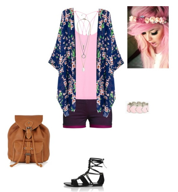 floral hippie style