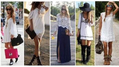how to style boho chic