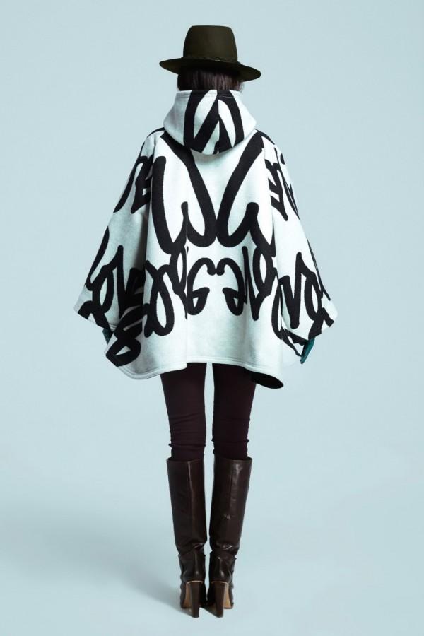 stylish poncho & cape coats for winter