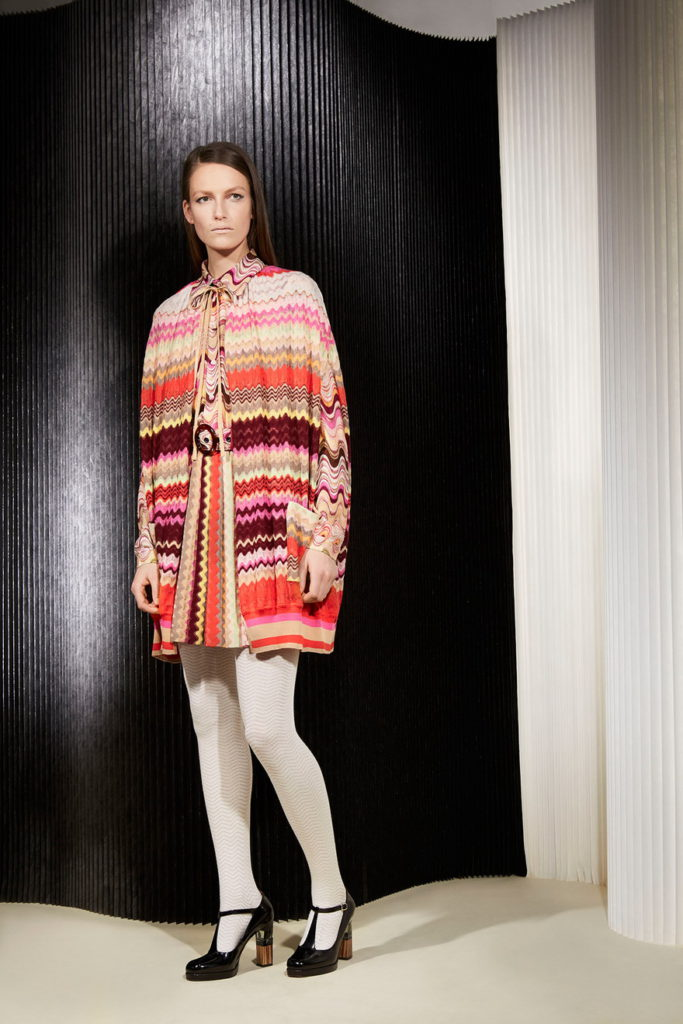light colorful poncho & cape coats outfit