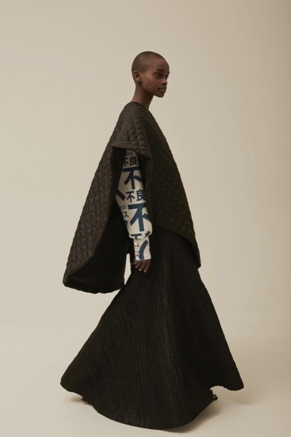 brown poncho & cape coats