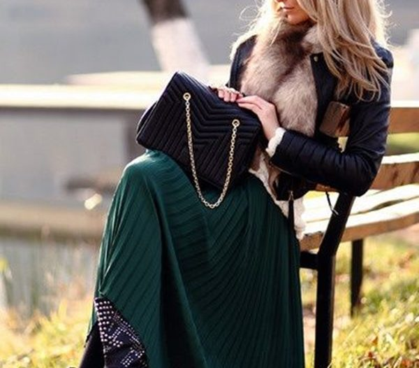 what shoes to wear with maxi dress in winter
