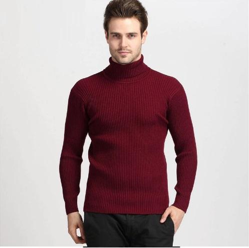 men in cashmere sweater