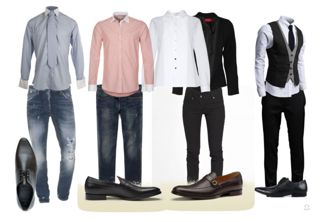 men's casual & business looks