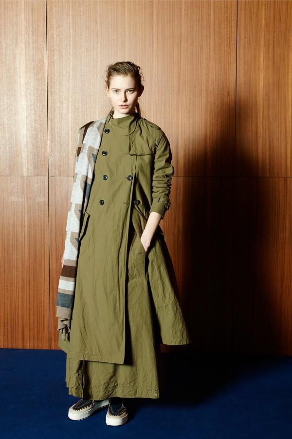 maxi military coats & jackets