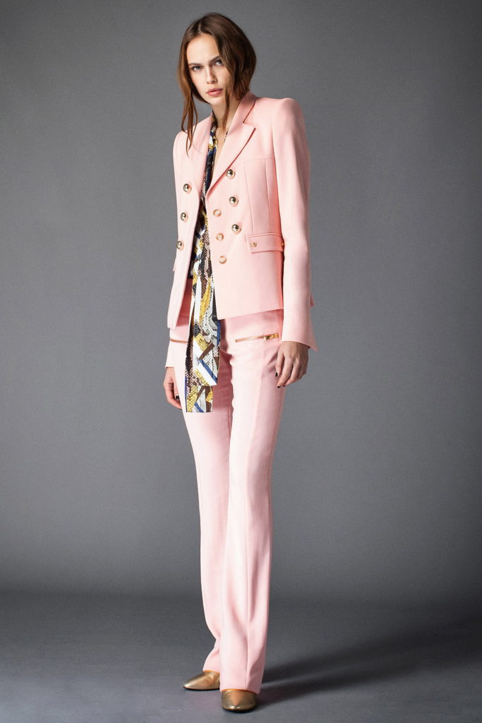 pink women's pant suits