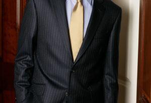 pinstripe suits for men