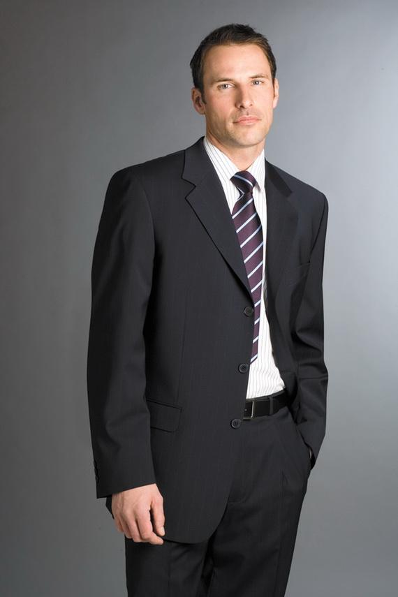 dark suit for men