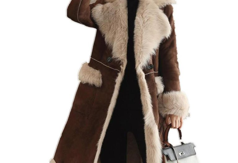shearling coats & jackets