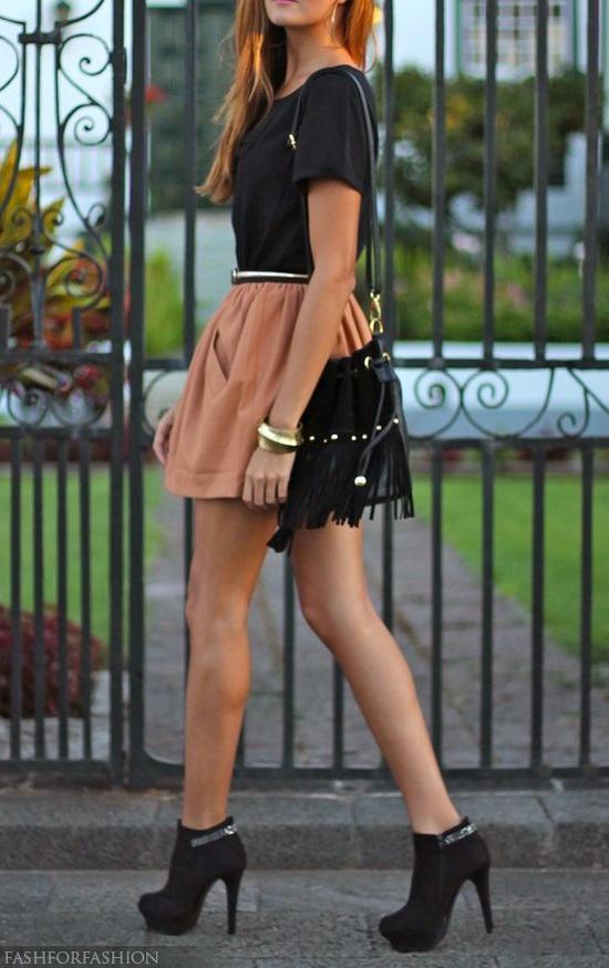 fashion trend skater skirt