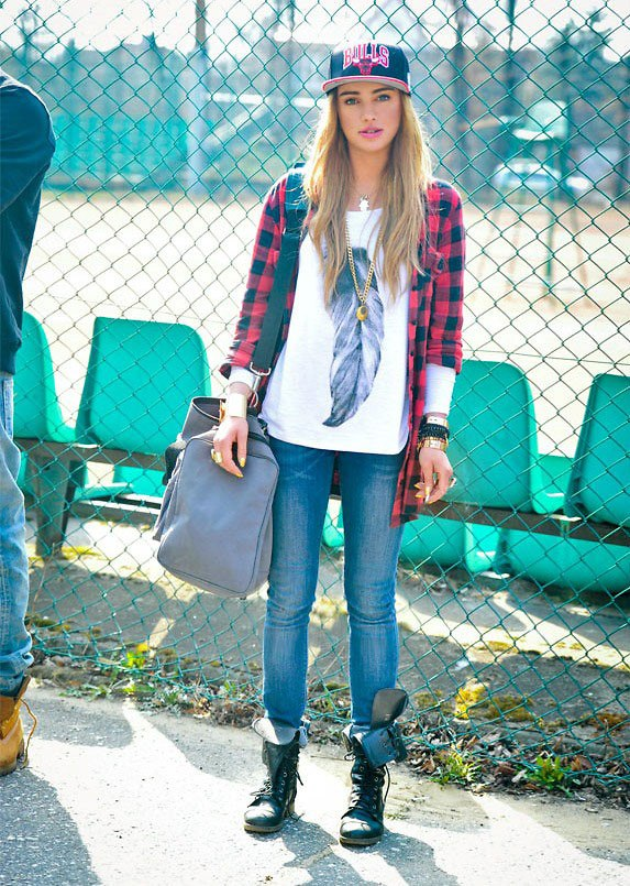 tomboy casual style