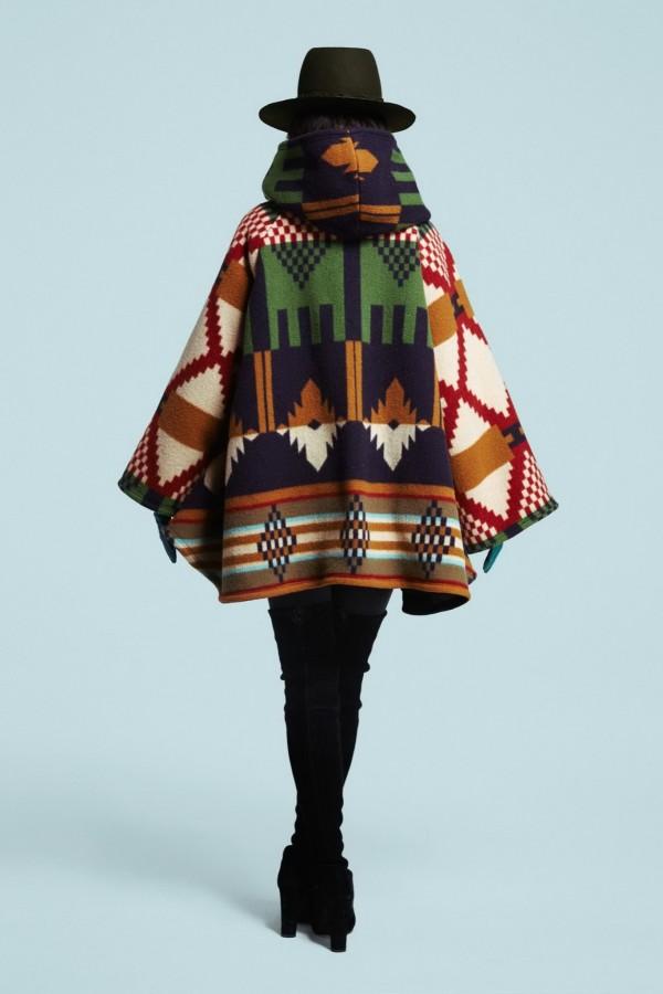 traditional poncho & cape coats