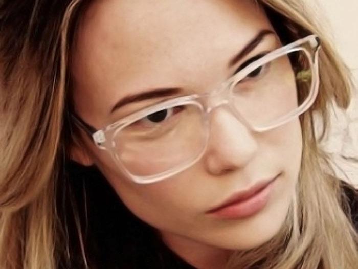 transparent glasses frames