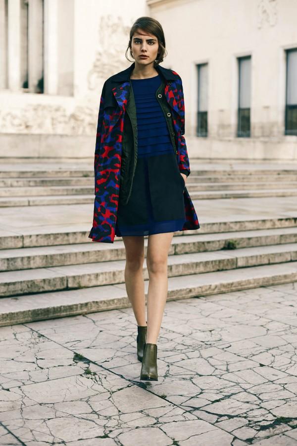 trendy women's military coats & jackets