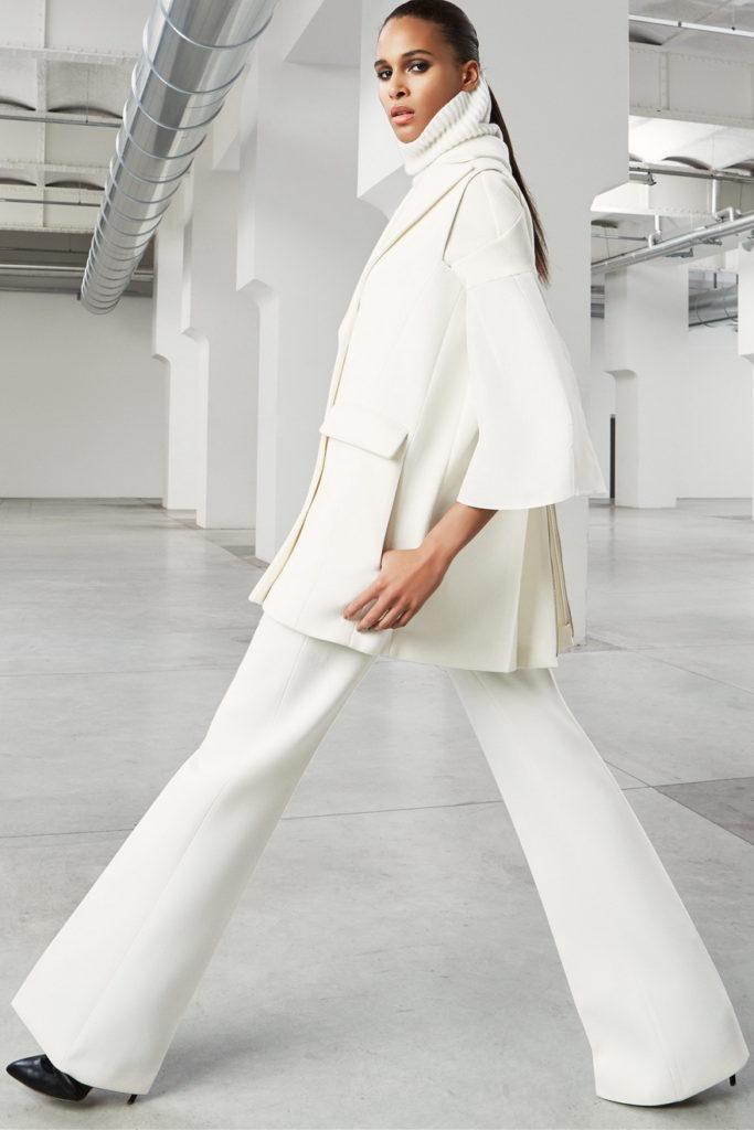 white women's pant suits