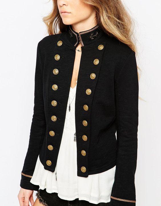 military women's fashion