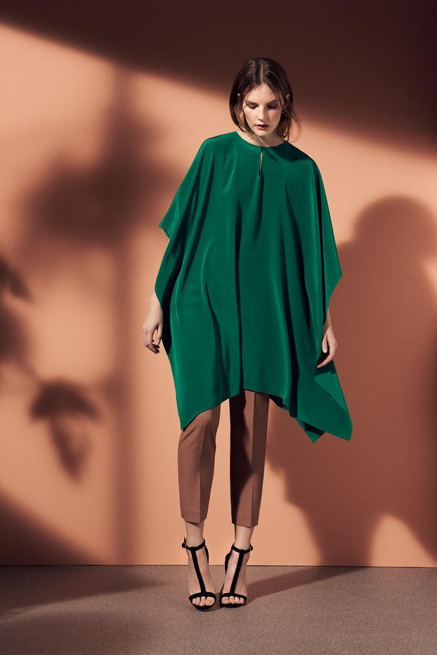 fall poncho & capes outfit