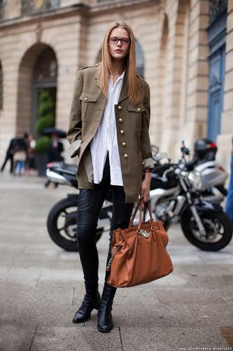 how to wear military coats & jackets