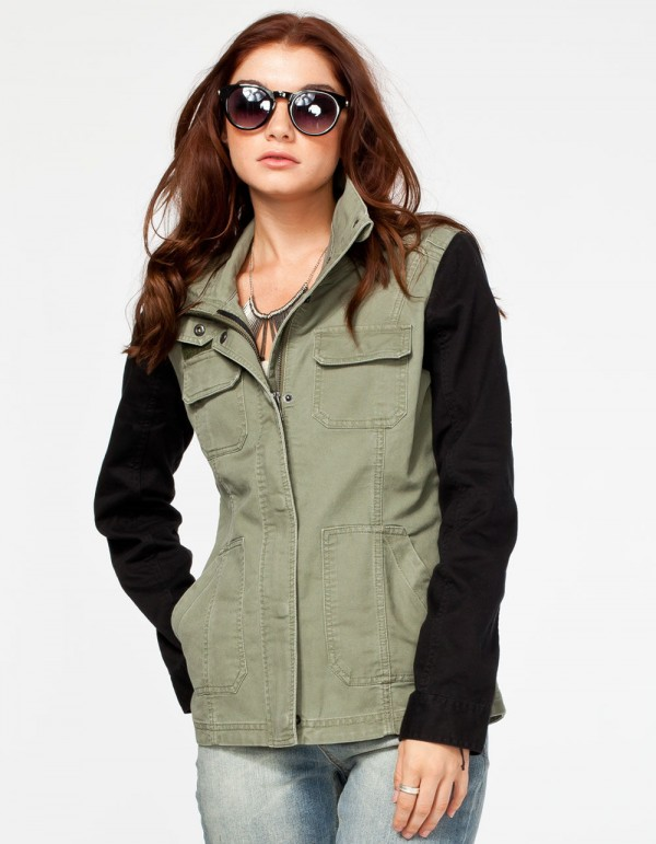 fall jacket for woman