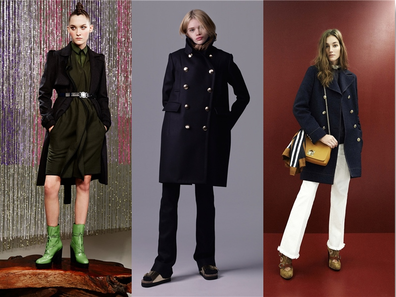 women's military coats & jackets for winter