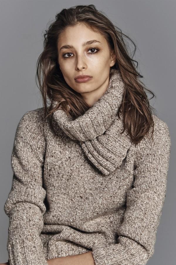 brown turtleneck sweaters