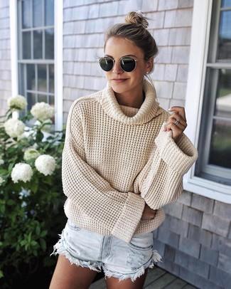 best ways to wear cowl neck sweaters