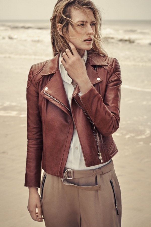 biker style leather jackets for women