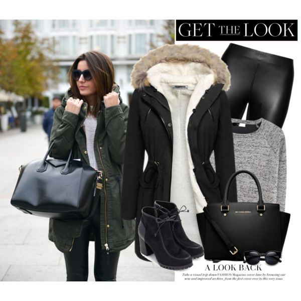 outfits with women's parkas