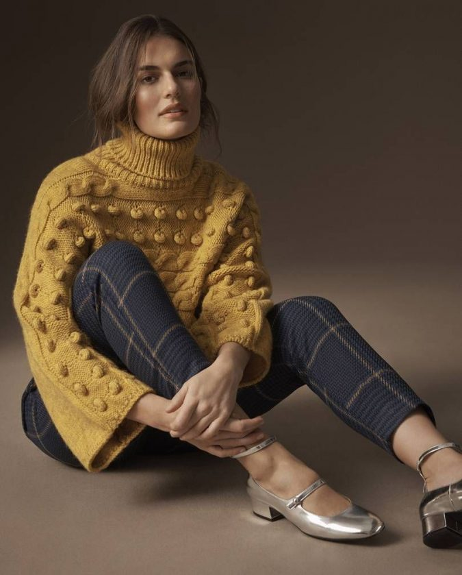 boho knitwear outfit